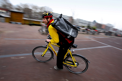 pr 032612 nl fietskoerier fietskoerier