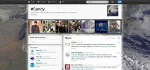 Twitter Sandy