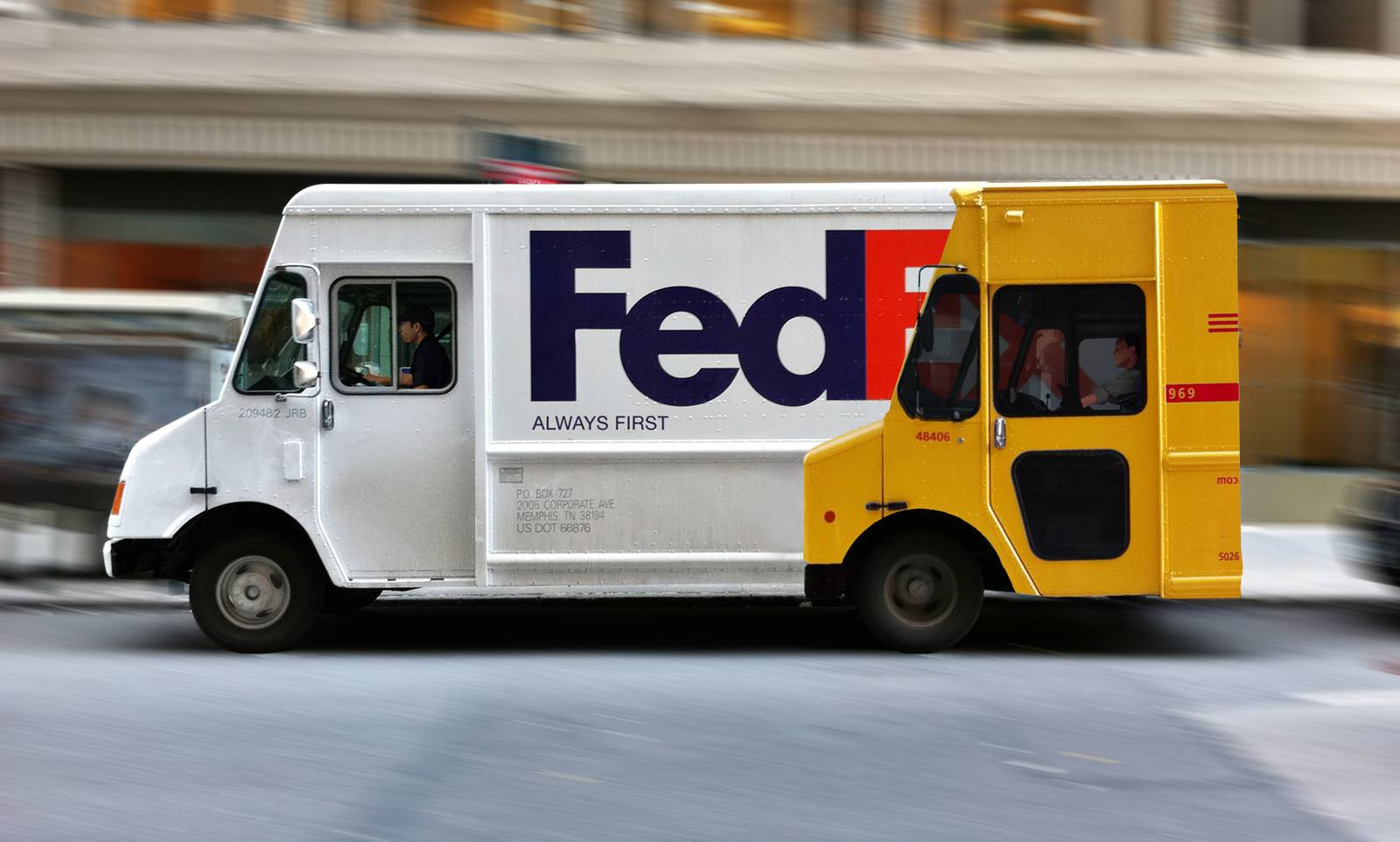 How FedEx beats DHL