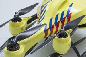 ambulance drone closeup
