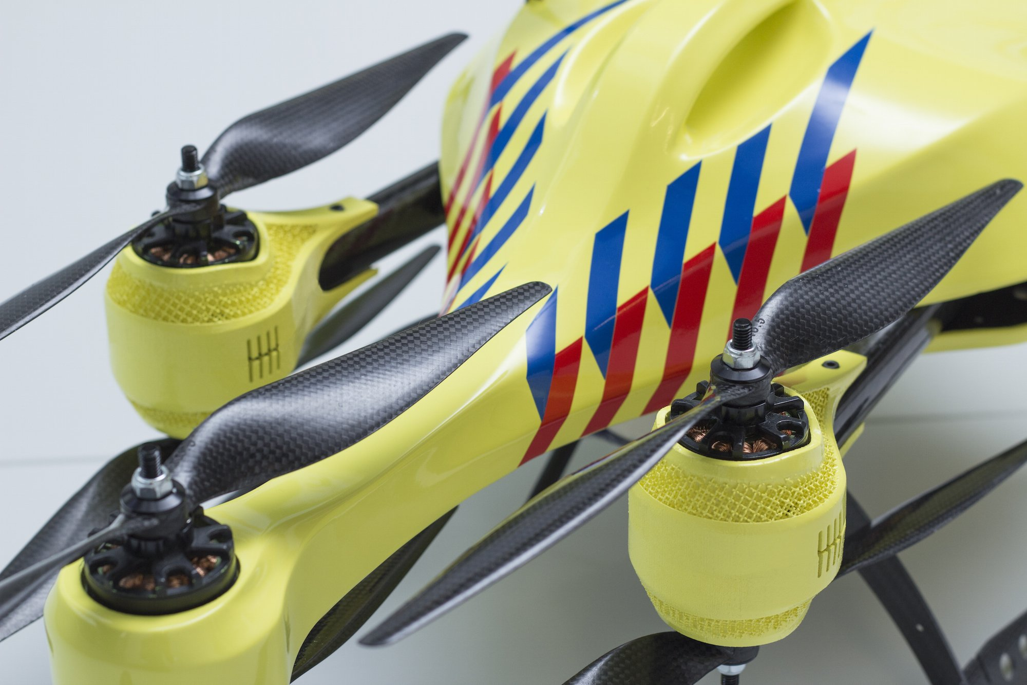 ambulance drone closeup