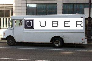 Uber Delivery Van