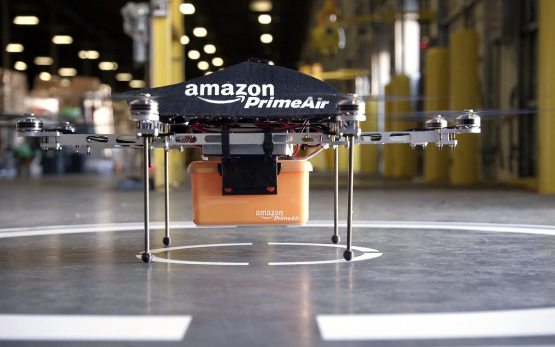 Amazon Reveals Most Viable Prime Air Drone Design, Yet.