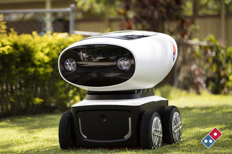 Want Pizza? There's a Delivery Robot for That!