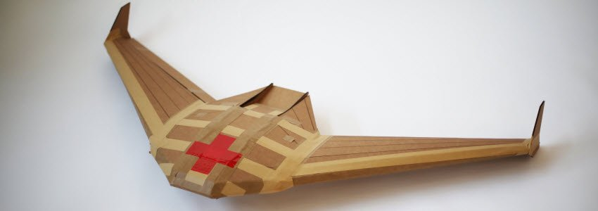 Delivery Drones? Industrial Paper Airplanes!