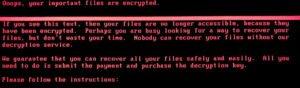 FI wannamore ransomware screenshot