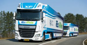 DAF EcoTwin participating in the European Truck Platooning Challenge 20160322 01 940