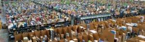 Parcels returns warehouse FI